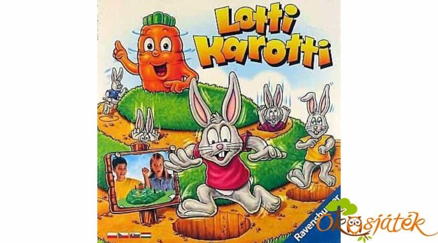 Szerezd meg a sárgarépát a Lotti Karotti-val!