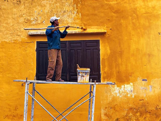 Falfesték mosható kivitelben