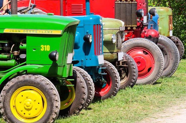 A traktorgumi előtt nincs akadály