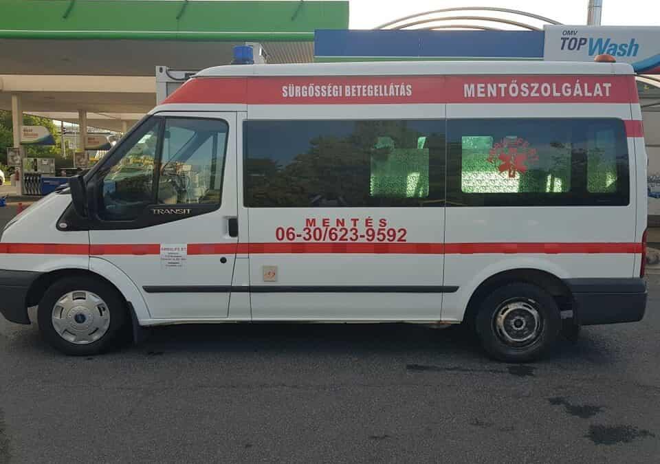 Szakszerű betegszállítás Budapest szerte