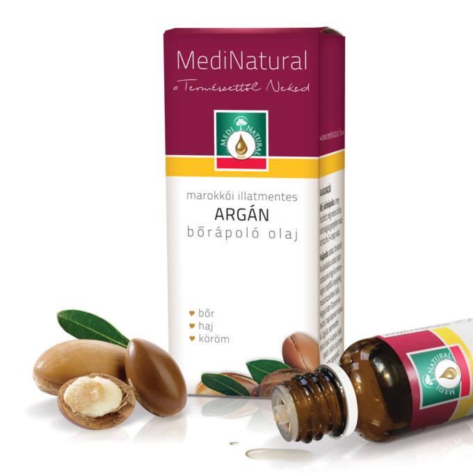 Az E-vitaminban gazdag argán olaj