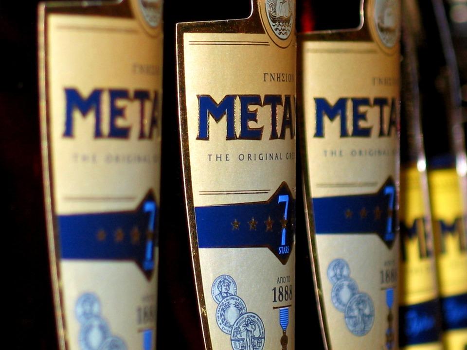 Többcsillagos, érlelt Metaxa