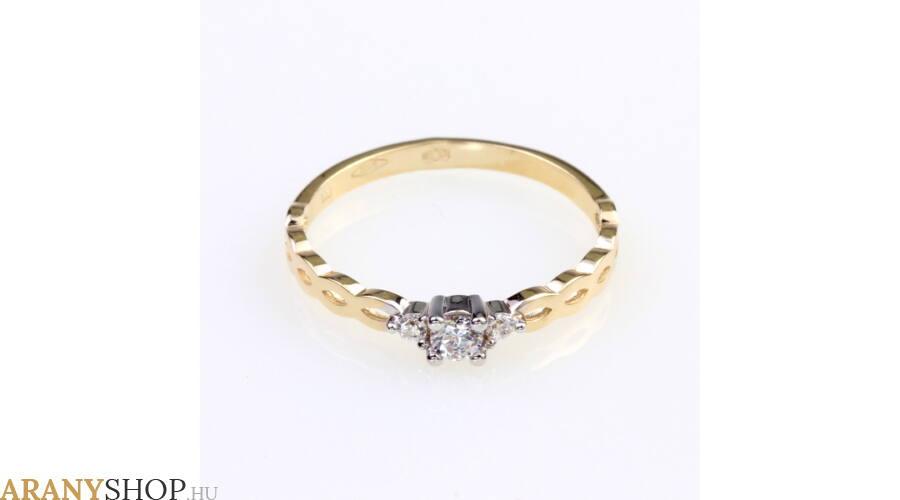 Eljegyzési gyűrű sokféle stílusban